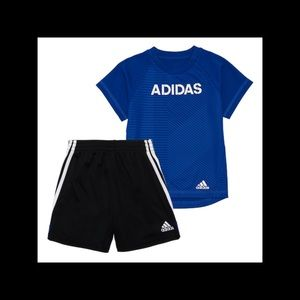 Boy's adidas shorts outfit NWT 12 months